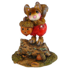 Wee Forest Folk BUSHY TAIL'S TRAIL, WFF# M-531, Squirrel Costume Halloween Mouse