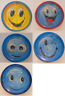 Mini Maze Puzzle Ball Mind Game Labyrinth Toy Happy Smile Smiling Face Design