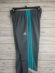 Adidas Youth Size Large 14/16 Athletic Track Pants Joggers Running Tapered Leg