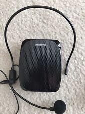 Zoweetek Mini Voice Amplifier - Loud Speaker/MP3 Player/AUX/USB New w/Open box