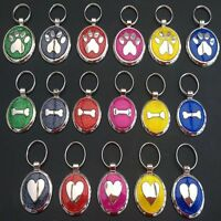 Glitter Premium Engraved Pet Tags DOG ID Disc Disk 25&32mm Quality Puppy Cat