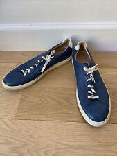 COMMON PROJECTS 1785-4928 Achilles Men's Size 12 Leather Sneakers - Blue