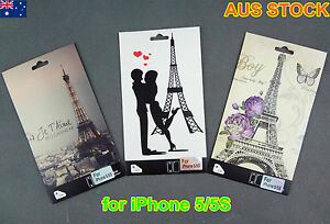 iPhone 5 5S Skin Vinyl Sticker Kit Back & Front Protect Cover Film (C177)