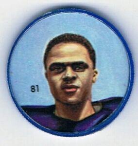 1963 Nalley's Premium Football Coin #81 Leo Lewis Winnipeg Blue Bombers