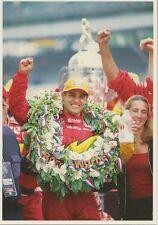 Juan Pablo Montoya 2000 Indianapolis 500 Winning Postcard Target Chip Ganassi