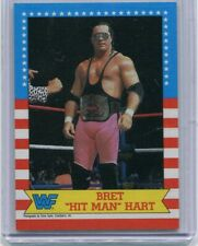 "BRET ""HIT MAN"" HART 1987 TOPPS ROOKIE CARD #3 WWE ROH ECW NXT HOH IMPACT AEW"