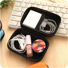 Best Headset Protect Carry Hard Case Bag Storage Box Headphone Earphone #V05