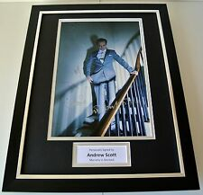 More details for andrew scott signed framed photo autograph 16x12 display sherlock moriarty & coa