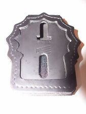 Paterson Police (NJ) Detective Badge Cut-Out Belt Clip - (Badge Not Included)