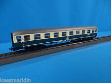 Marklin 4111 DB Express Coach 1 kl. Beige-Oceanblue version 2 Tin Plate