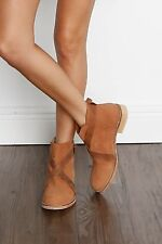 Free People Las Palmas Ankle Boot taupe size 41 new with box Anthropologie