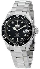 Invicta Mako Pro Diver Automatic 24 Jewels Black Dial Silver Men's Watch 8926