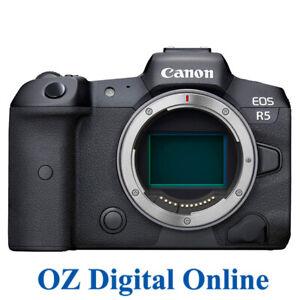 NEW Canon EOS R5 Body (kit box) Mirrorless Digial Camera 1 Yr Au Wty