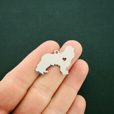 Cocker Spaniel Charm Stainless Steel Great As a Charm or For Stamping - Mt460