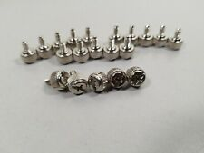 20 Chrome Computer Case Thumb Screws 6-32 for Cover / Power Supply / PCI Slots