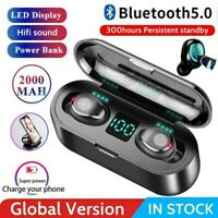 Wireless Earbuds Bluetooth Earphones Headphones Mini Headset Waterproof TWS Pod