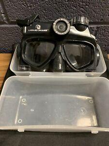 Liquid Image 318 Scuba Series 12.0MP HD720P, Underwater Video Mask (Black)