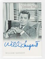 2009 Complete Twilight Zone Autograph A104 William Sargent