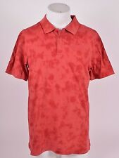2016 NWT MENS ELEMENT FREDDIE POLO SHIRT $35 M brick slim fit classic