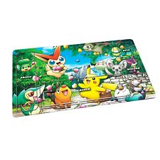 More details for pokemon playmat tcg fabric rubber backed - card game - placeholder overlay