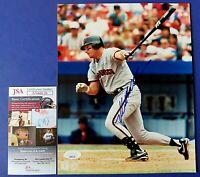 MATT WILLIAMS SIGNED 8x10 PHOTO ~ San Francisco Giants Baseball ~ JSA NN60126