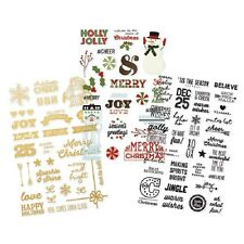 Simple Stories - CLASSIC CHRISTMAS CLEAR Sticker Packs - Planner Stickers