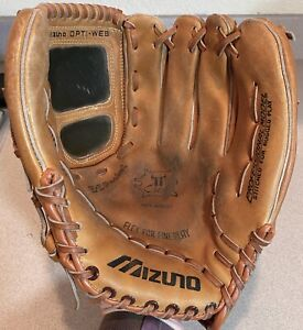 Mizuno Opti-Web Baseball Glove Leather 1984  MT 8000 E-Z Pocket       DM