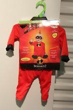 Jack Jack The Incredibles Baby 0-6 Month Costume Infant Newborn Disney Pixar New