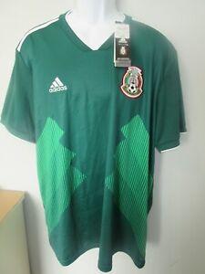 NWT Mens Adidas Mexico National Team Futbol Soccer Jersey sz. 2XL   orig. $109