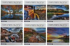 BRAND NEW 6-PACK Nature's Glory Bob Larson 1000-pc Jigsaw Puzzles TCG Sure-Lox +