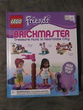 LEGO Friends Brickmaster Treasure Hunt In Heartlake City DK Book & Bricks
