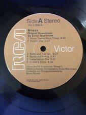 Moses Original Soundtrack Ennio Morricone RCA TBL1-1106-A