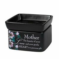 Mother Beauty Love Black Electric 2 in 1 Jar Candle Wax Tart Oil Warmer