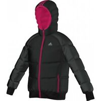 ADIDAS Warm Back To School Wear Jacket Black Padded WInter Designer Girls