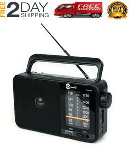 New Panasonic Portable AM/FM Radio Built-in Dynamic Speaker AC/DC Power Cord