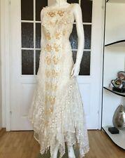 CAROLE LEE Victorian Wedding Gown, Antique Wedding dress, Burlesque Tulle Dress