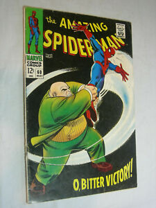 Amazing Spider-Man #60 G- CC Nice Kingpin cover LOOK