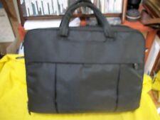 DELL Black Nylon Computer Laptop Bag Briefcase Carry On - Excellent