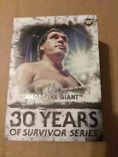 WWE 2018 Topps Undisputed 30 Years of Survivor Series 25 Card Insert Set