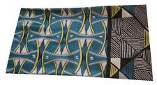 """West Elm Silk Print Pillow Cover - 12"""" x 21"""" Blue"""