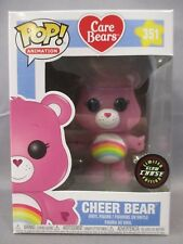 "POP Care Bears 351 ""CHEER BEAR"" GITD Limited Glow Chase Edition Figure Funko"