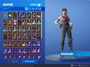 ✅ACCOUNT F0RTNITE 400+ SKIN SAVE THE WORLD✅*RAFFLE*