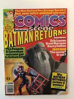 Comics Scene #28 (August, 1992) 9.0 VF/NM Batman Returns