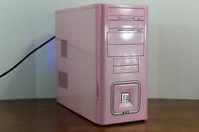 Custom Pink Gigabyte Gaming Desktop PC Intel Core i7 Quad 8 GB 1TB Nvidia GTS450