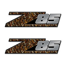 Z85 Truck Bed Camouflage Graphic Skull (2 pack) FORD CHEVY DODGE Toyota  Z85a05