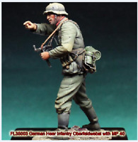 1:35 WWII German officer (NO BASE)-352Soldiers High Quality Resin Kit