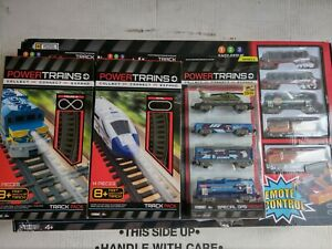 POWER TRAINS  LOG LOADER EXPRESS by jakks pacific.2x TRACKS +SPECIAL OPS FREIGHT