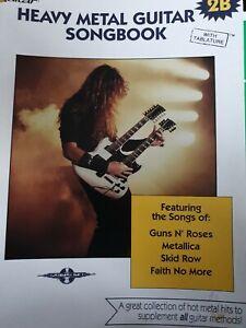 Heavy Metal Guitar Songbook with guitar tablature 2B - sheet music