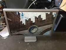 """Apple Cinema HD Display A1082 23"""" Aluminum 1920x1200 with Power Adapter"""