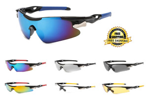Sunglasses Men Sports Bicycle Glasses Mountain Cycling Riding Goggles Eyewear